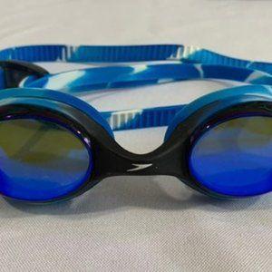 Speedo adult blue swimming goggles